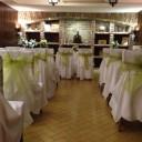 Esküvői terem a borpincében