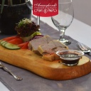 Falusi sült libamáj zsírjában hidegen tálalva 1 - Aranyhordó Étterem és Pálinkaház