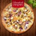 Görög pizza - Aranyhordó Étterem és Pálinkaház