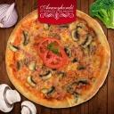 Sonkás-gombás pizza - Aranyhordó Étterem és Pálinkaház