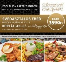Vasárnapi Svédasztal Korlátlan Fogyasztással