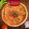 Sonkás, kukoricás pizza - Aranyhordó Étterem és Pálinkaház